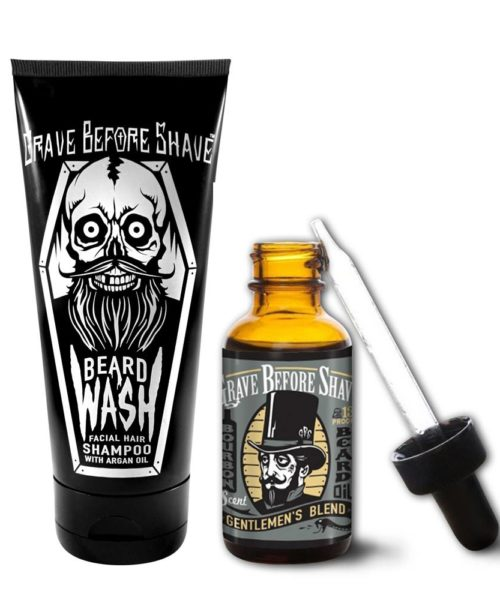 Сапун и масло за брада Grave Before Shave Gentlemen's blend
