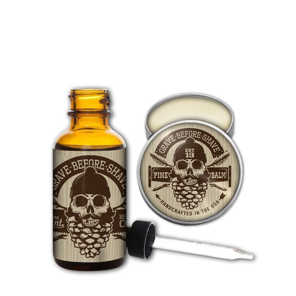 Grave Before Shave Pine Scent pack