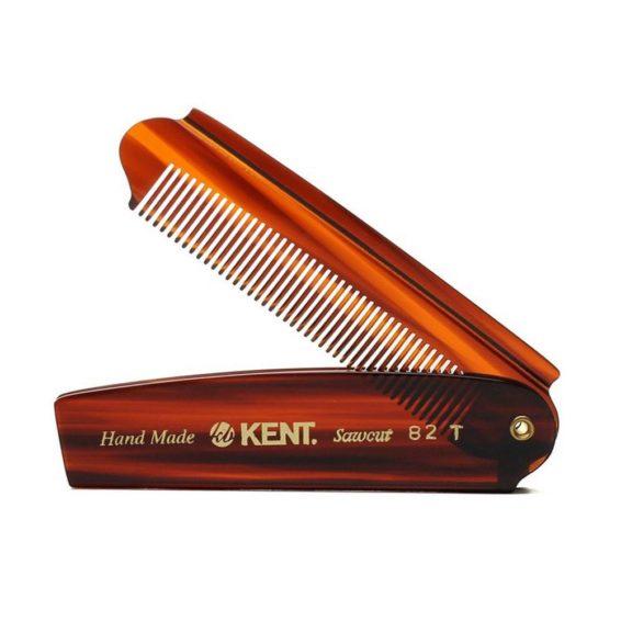 Сгъваем гребен за коса KENT A82T