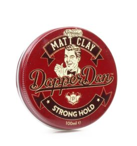 Водоразтворима моделираща глина за коса Dapper Dan