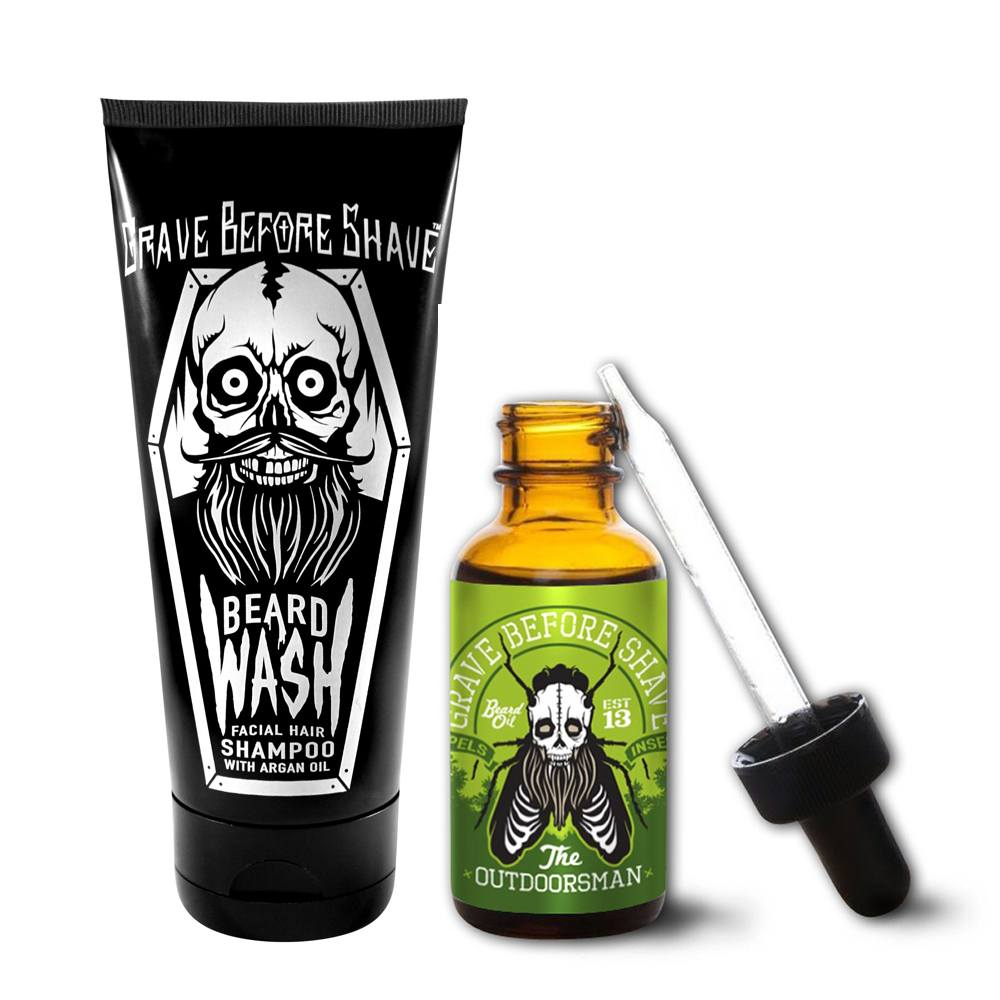 Сапун и масло за брада Grave Before Shave The Outdoorsman