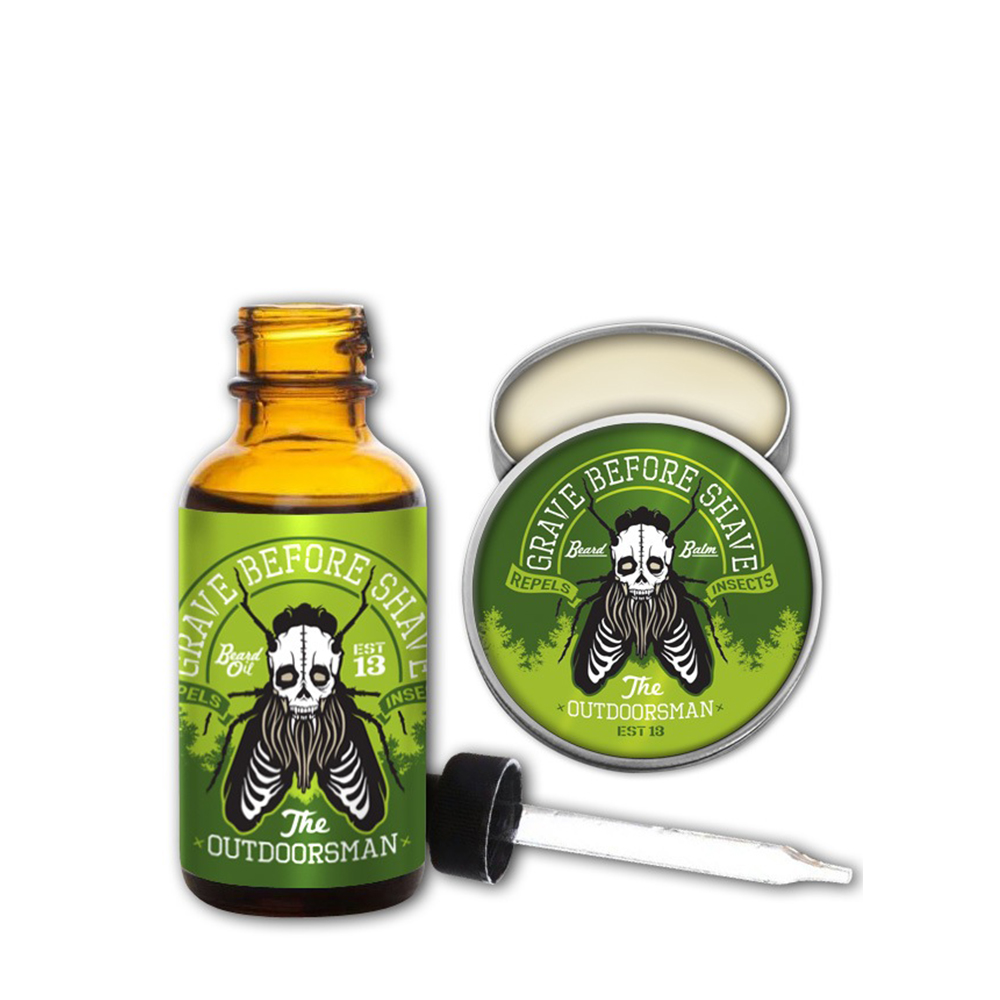 Grave Before Shave Outdoorsman pack