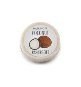 Сапун за бръснене Haslinger с аромат на кокос