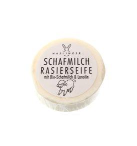 Сапун за бръснене Haslinger с овче мляко и ланолин