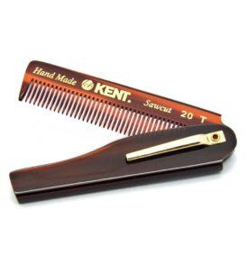 Сгъваем гребен за коса KENT A20Т