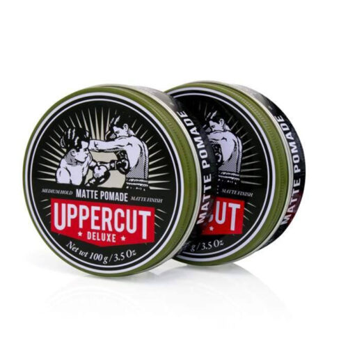 Uppercut Deluxe Matte Pomade Twin Pack